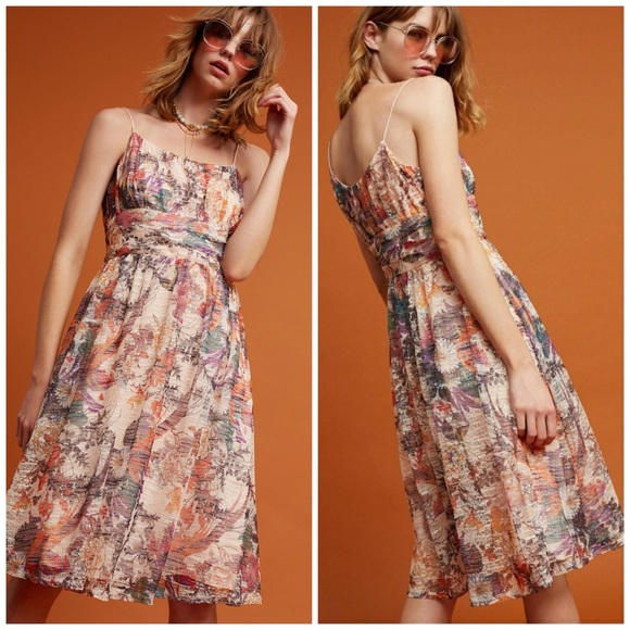 Anthropologie Dresses & Skirts - New Anthropologie Maeve Floral Mackenzie Dress